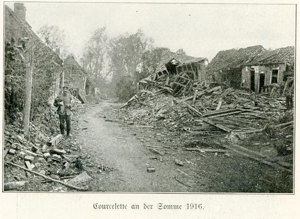 Courcelette village